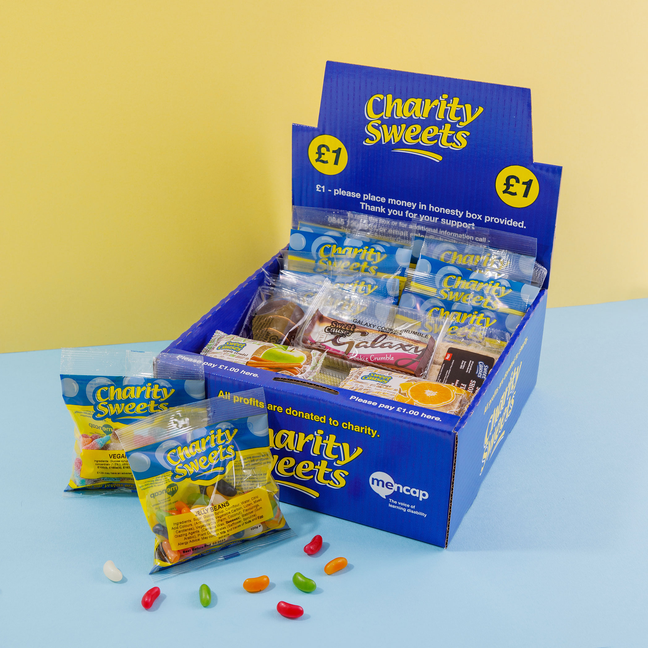 Mencap Charity Box