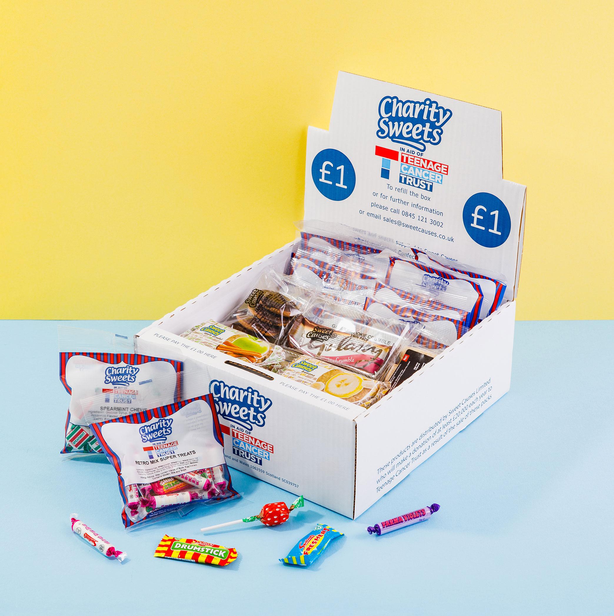 Teenage Cancer Trust Charity Box