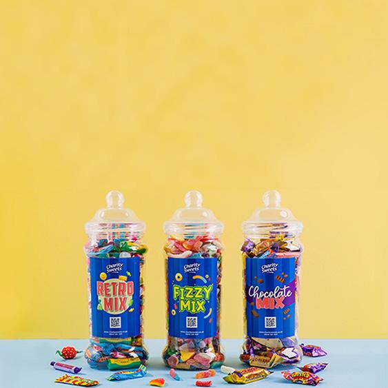 Charity Sweet Jars